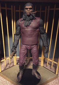 NECA PLANET OF THE APES Plant Of The Apes, Old Toys, Dune, Action Figures, Nerdy Things, Superhero, Statues, Sculpting, Comic