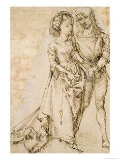 """Albrecht Dürer """"Liebhaber"""" (Lovers)"""