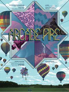Arcade Fire pôster