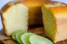 Bolo de limão sem glúten, sem lactose e sem açúcar | Roberta Ferraz