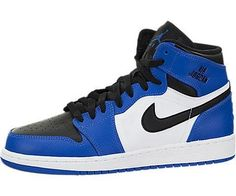 check out a4905 c281d Nike Jordan Kids Air Jordan 1 Retro High Bg Soar Soar White Black Basketball  Shoe 5 Kids US