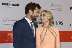 Joshua Jackson and Diane Kruger shared the look of love in Berlin.