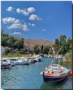 Chios Island, Greece  Lagada's canal by tolis*, via Flickr
