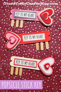 Valentine's Day Crafts For Kids, Craft Projects For Kids, Arts And Crafts Projects, Crafts To Make, Craft Ideas, Valentines Day Party, Valentine Day Crafts, Be My Valentine, Holiday Crafts
