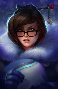 Fanart piece to Mei from the Blizzard Title Overwatch. I haven't done a fanart piece in ages and I just loved doing it. I really wanted to push my detail lately.. its a start! Also shoutout to Irakli Nadar and his work. He definately helped give me inspiration for the piece and the desire to push my work further. So thanks to you sir! Keep up the great work.