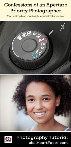 Aperture Priority Mode Photography Tips on iHeartFaces.com