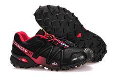 info for c53f3 1294d Mens Salomon online shop europe athletic shoes Speedcross 3 CS Black Red Salomon  Speedcross 3,