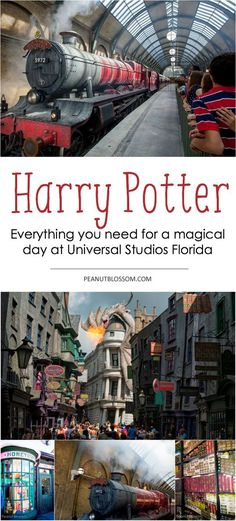 Heading to Florida to see Harry Potter at Universal Studios? Everything you need for a magical day at the parks!