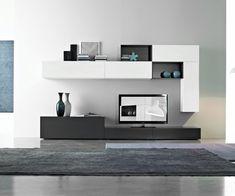 Uberlegen FGF Mobili Design Wohnwand C26B