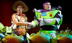 Buzz Lightyear and Woody Do Some Problem Solving in Toy Story The Musical