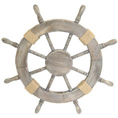 Lilato Laka: DIY Ship steering wheel