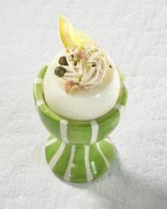 Gefüllte Eier mit Thunfischcreme Rezept