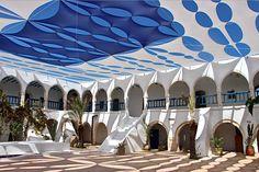 Fondouk à Djerba, Tunisie