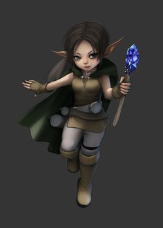 Rpg Gnome Female (Rhea)
