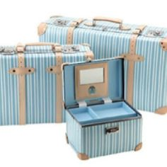627fcce02a7e Globe-Trotter  Azure  collection - If you re the type of person who would  throw your belongings into any bag or suitcase
