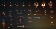 ArtStation - UI Elements, Dmitry Ananiev