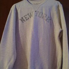 Ralph Lauren Denim & Supply Sz L topSold Worn once men's size Large lite heather gray sweater shirt. Great condition. Smoke and pet free home. Ralph Lauren Tops Sweatshirts & Hoodies