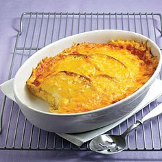 Easy Cheese Bake | MyRecipes.com