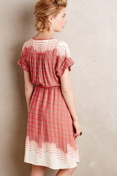 Ruby buttondown dress by Maeve from anthropologie.eu