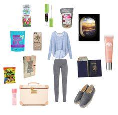 """Travel"" by lormorelia on Polyvore featuring moda, Casetify, Royce Leather, Globe-Trotter, Victoria's Secret, MaxMara, Chanel, Maybelline y Origins"