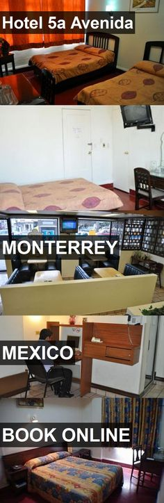 Hotel Hotel 5a Avenida in Monterrey, Mexico. For more information, photos, reviews and best prices please follow the link. #Mexico #Monterrey #Hotel5aAvenida #hotel #travel #vacation