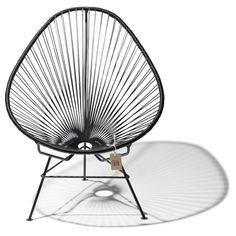 Fair Furniture Acapulco Stoel 75 cm - Zwart