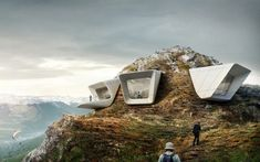 Messner Mountain Museum / Zaha Hadid