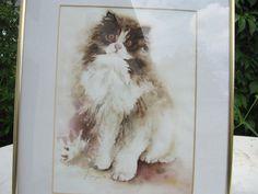 Bild mit Katze von Vintage4Friends auf Etsy