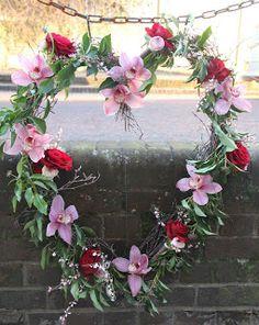Beautiful Valentine's Day wreath