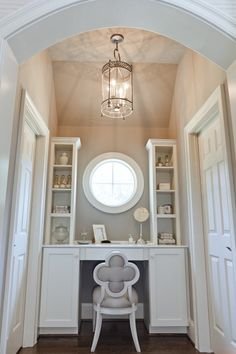 What girl wouldn't love to have her own vanity area like this?!
