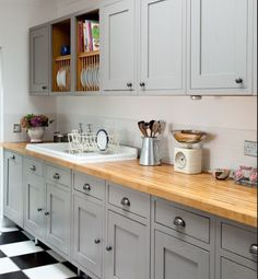 my new kitchen hopefully! (but in ivory not taupe) :D