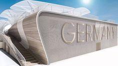 German Pavilion Mailan Expo 2015