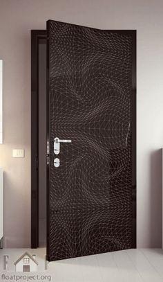 contemporary interior door