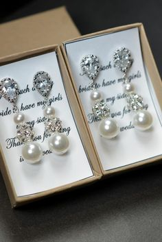 Hey, I found this really awesome Etsy listing at https://www.etsy.com/listing/165781929/wedding-jewelry-bridesmaid-gift