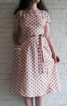 50's inspired dress.