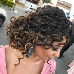 hair with flowers hair bridesmaid hair with veils hair styles for curly hair hair for bridesmaids hair styles for long hair down hair boho for wedding hair Fancy Hairstyles, Curled Hairstyles, Bride Hairstyles, Curly Bridal Hair, Wavy Hair, Short Hair, Bridesmaid Hair, Prom Hair, Natural Hair Styles