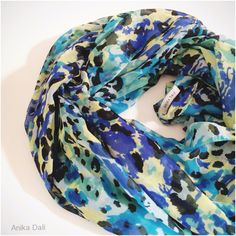 Women's Belize Floral Chiffon Silky Soft Fashion Scarf at Amazon Women's Clothing store: Fashion Scarves, animal print scarf, blue scarves, black spot scarf, bestselling shawls