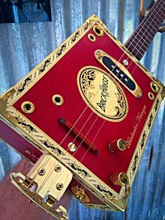 A personal favorite from my Etsy shop (null) Ukulele Instrument, Cigar Box Guitar, Guitars, My Etsy Shop, Butterfly, Houses, Bird, Check, Instruments