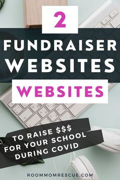 Looking for PTA fundraising ideas during coronavirus? Use these 2 websites to create lucrative PTA fundraising ideas for elementary, high school and middle school while social distancing. Taking your elementary school fundraiser online can make raising money for your school, PTA or PTO easy and fun. Learn more at roommomrescue.com #schoolfundraiser #schoolfundraising #ptofundraising #ptafundraising