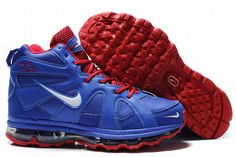 nike griffeys fury 2010 blue and red for men