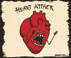 heart attack; that would be me.  Oct 26, 2007.  Dios Mio!