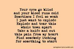 Springsteen Lyrics