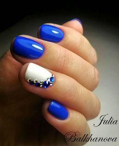 That'S the prettiest blue nail art blue, blue gel nails, cobalt blue nails, Fabulous Nails, Gorgeous Nails, Pretty Nails, Gorgeous Gorgeous, Fancy Nails, Diy Nails, Cute Nail Designs, Nail Designs Bling, Toenail Art Designs