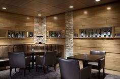 SSDG Interiors Inc. | hospitality restaurant: Sparkling Hill Resort Barrique + Java
