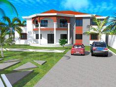 Projet de construction d'Une villa moderne a Ndjamena, N'Djamena, Albert Kwessi