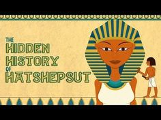 Know more about Hatshepsut, a female pharaoh during the New Kingdom in Egypt. Somebody attempted to erase the pharaoh's name and image from history. Ancient World History, Women In History, Study History, Mystery Of History, Teaching History, History Classroom, History Activities, History Education, 6th Grade Social Studies