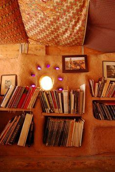 Cob bookcase