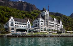 Park Hotel Vitznau #Vitznau #Switzerland #Luxury #Travel #Hotels #ParkHotelVitznau
