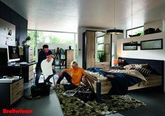 Rauch | Wohnen, Schlafen und Arbeiten in einem Raum - das harmonische Gesamtkonzept macht es möglich!