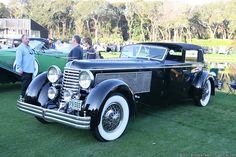 1940 Duesenber SJ Rollston Town Car Cabriolet